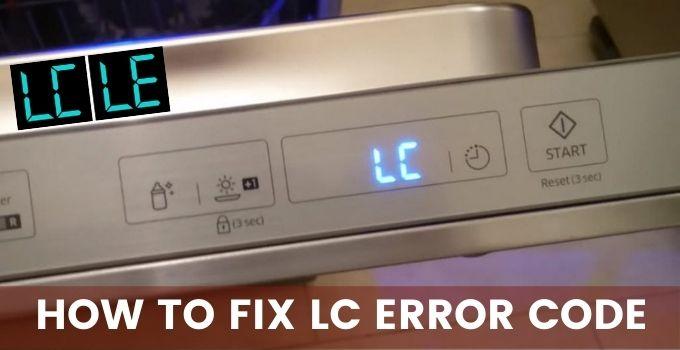 Lc Error Code