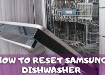 Reset samsung dishwasher