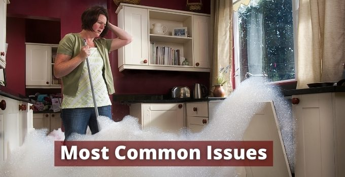 Common problems in dishwasher
