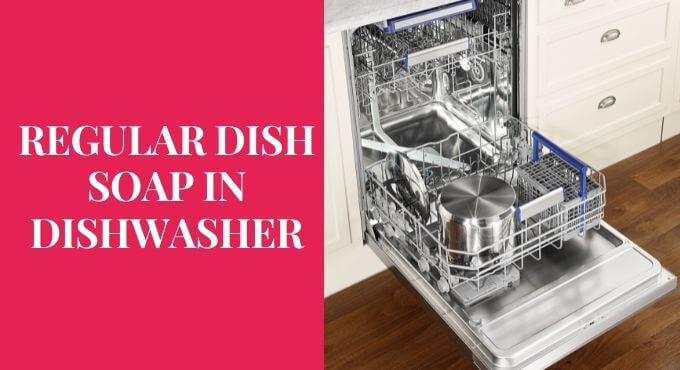 can you use dish soap in a dishwasher